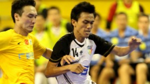Vietnam's Thai Son Nam score late to draw with China's Shenzhen Nanling at AFC Club Futsal Championship