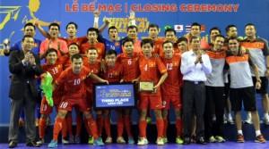 Những hình ảnh về giải futsal quốc tế 2013