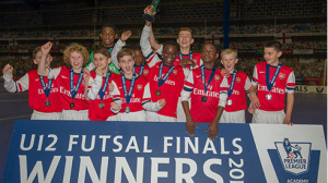 Futsal fits 'like a glove' for victorious Gunners