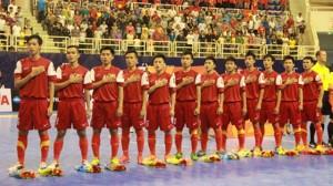 Vietnam national futsal Team to play international tournament in China