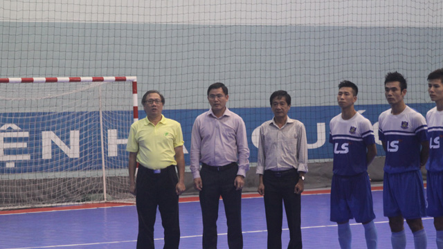 To kick off HCMC 2014 Futsal Tournament: Thai Son Nam to win in first game