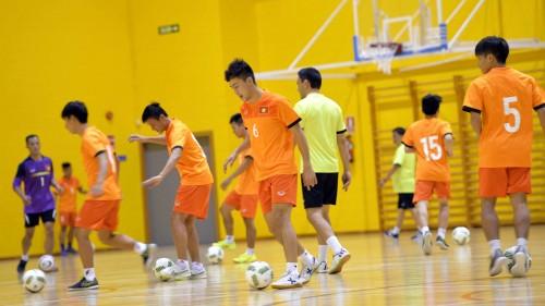 Đội tuyển futsal Việt Nam đã có những buổi tập đầu tiên tại Granada