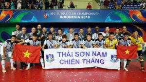"""Futsal Thái Sơn Nam: """"Nhà vua"""" Việt Nam mang dáng vóc hàng đầu châu Á"""