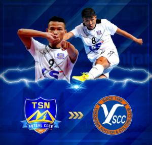 CLB Futsal Nhật Bản ký hợp đồng với 2 cầu thủ Thái Sơn Nam