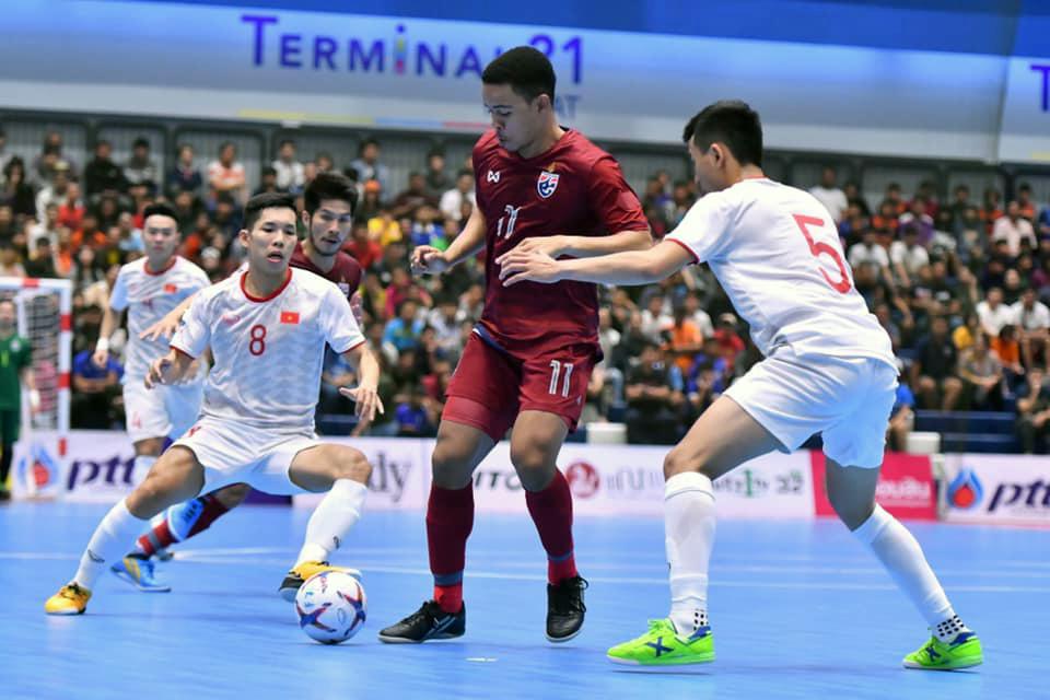 ĐT Việt Nam kết thúc giải giao hữu Futsal PTT Thailand Five 2019 với ngôi Á quân