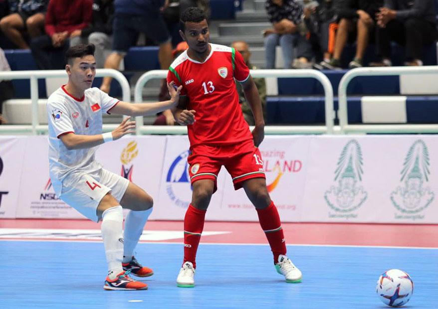 Thắng Oman 3-1, ĐT Việt Nam tranh ngôi vô địch Giải futsal Thai Five 2019 với chủ nhà Thái Lan